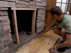 how to cover a brick fireplace with interior