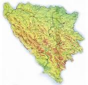Karta Bosne I Hercegovine Auto Bih Road Map Bosnia