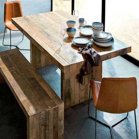 baby green reclaimed wood dining tables emmerson 174 reclaimed wood dining table west elm