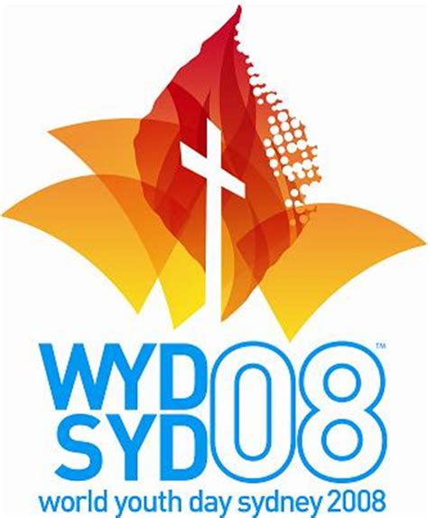 Endorsement Letter For World Youth Day Logotipo Encuentro Mundial De La Juventud 2008