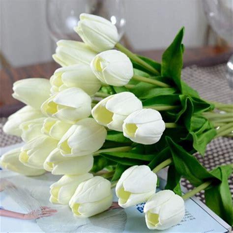 Paket Daun Bunga Dekorasi Daun Bunga Buatan 2 buy grosir tulip daun from china tulip daun penjual