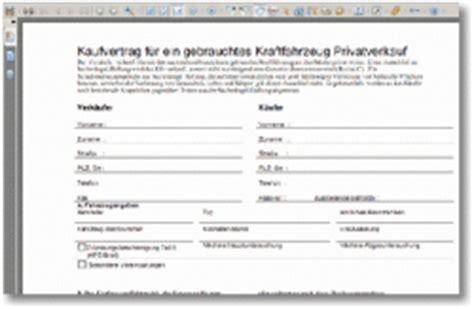 Motorrad Kaufvertrag T V by Auto Kaufvertrag Vorlage Drucken Privatverkauf