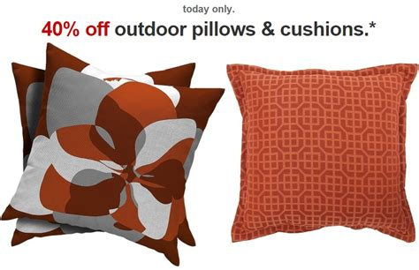 Outdoor Pillows Only by 40 Outdoor Pillows Cushions At Target Today Only