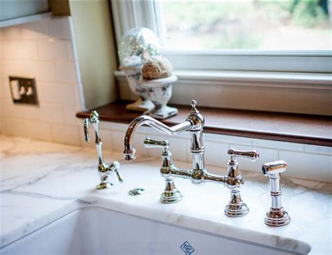 bridge kitchen faucets functional and modern faucet