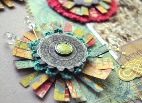 scrapbook flowers tutorial great flower tutorial by amy heller on the crate paper