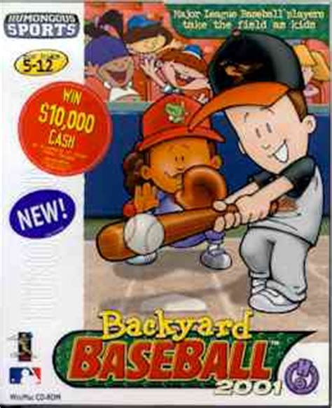 backyard baseball 2001 | backyard sports wiki | fandom