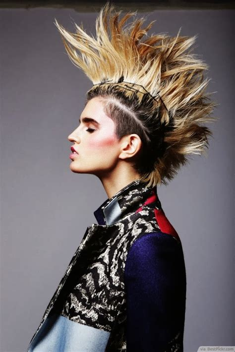 shoulder length spiky punk hair ladies hair styles 10 unique punk hairstyles for girls in 2018 bestpickr