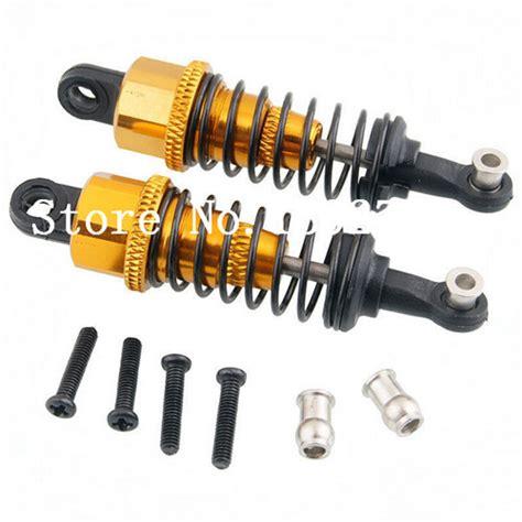 4 Pcs Shock Alloy Wltoys Vortex 1 18 A949 A959 A969 A979 Seri A B 2pcs wltoys 1 18 scale models rc car parts aluminum alloy shock absorber for a949 a959 a969 a979