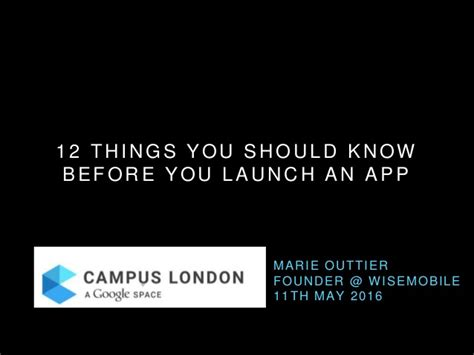 12 Things You Should Do Before You Hit 25 by 12 Things You Should Before You Launch An App