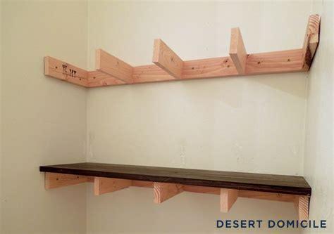 Regale Aus Altem Holz by Diy 15 Chunky Wooden Floating Shelves Shelves For