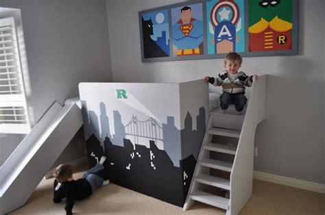 themed boys room olpos design