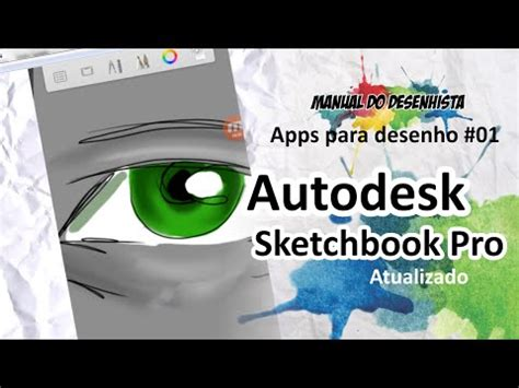 tutorial autodesk sketchbook pro español full download como desenhar com o sketchbook pro