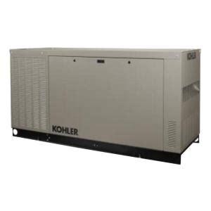 kohler 48 000 watt liquid cooled standby generator 48rcl