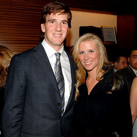 Eli Manning Sends Fiancee Abby Mcgrew Into Freezing Temps So He Wont Be Jinxed by Just Married Instyle