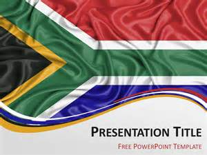 south africa flag powerpoint template presentationgo