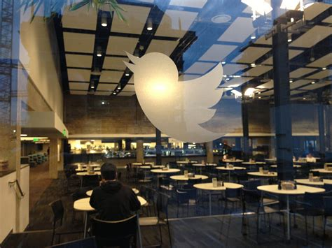 twitter office twitter headquarters looking into the twitter cafeteria