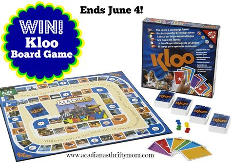 Games Giveaway - kloo board game giveaway sparkles to sprinkles