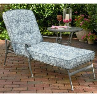 Kmart Patio Furniture Cushions Smith Palermo Replacement Chaise Lounge Cushion Outdoor Living Patio Furniture