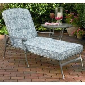 Martha Stewart Chaise Lounge Replacement Cushions Jaclyn Smith Palermo Replacement Chaise Lounge Cushion