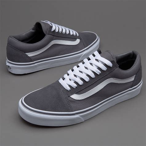 Vans Oldskool Cl Grey by Vans Skool Canvas Suede Grey Mens Shoes Vans