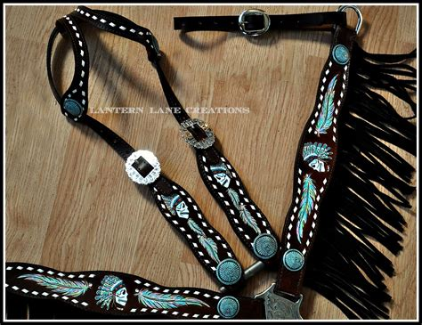 Handmade Tack - lantern creations high quality custom tack