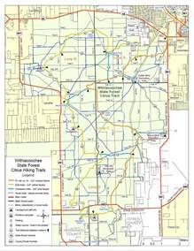 florida hiking trails map citrus 点力图库