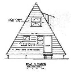 Free A Frame House Plans by A Frame House Plan With Deck