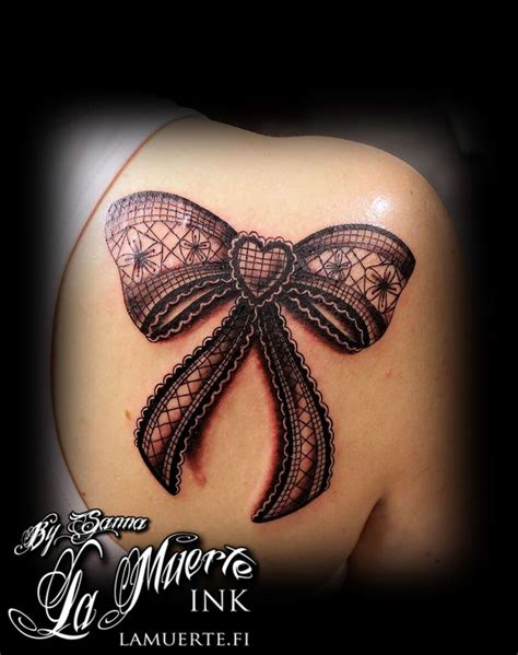 bow thigh tattoo best 25 lace bow tattoos ideas on bow