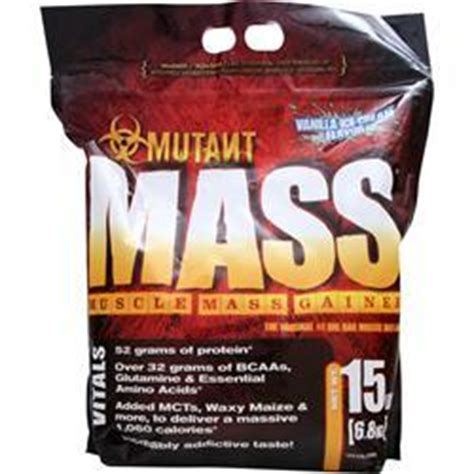 Mutant Mass 15 Lbs Gainer fit foods mutant mass mass gainer on sale at