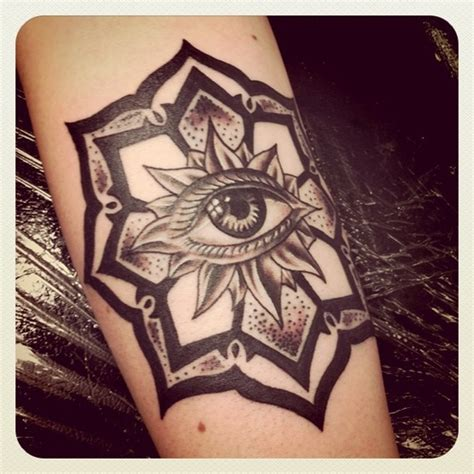 tattoo mandala illuminati mandala all seeing eye tattoo inked pinterest all