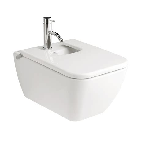 bidet lid square wall hung bidet with lid streamline products