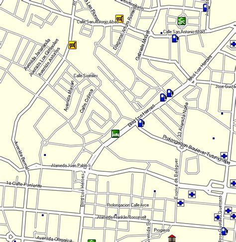 gps map kaart data el salvador gps map garmin kaart data