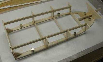build  rc boat hull part