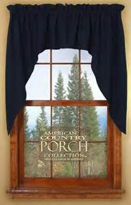 Blue Swag Curtains Solid Navy Blue Window Curtain Swags