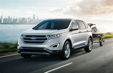 towing capacity ford edge 2017 ford edge versatility and capability