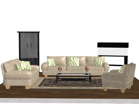 pack object living room furniture by kellwesker on
