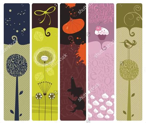 design a bookmark template 21 bookmark design templates free sle exle