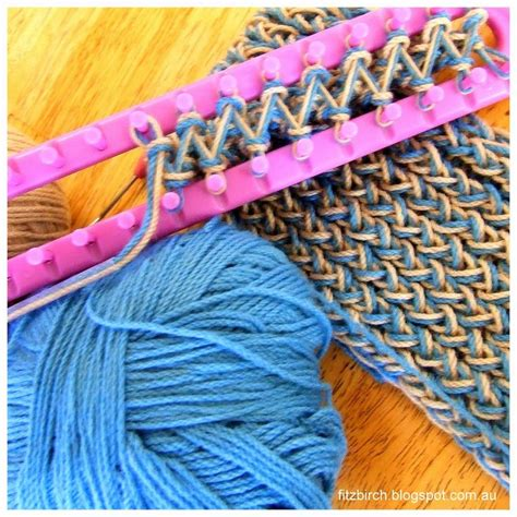 loom knitting scarf patterns 9 best images about knitting on stitching