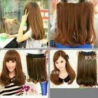 Hair Clip Import Keriting Sosis Keriting Gantung Medium 55cm grosir hairclip import murah jual hairclip murah premium quality