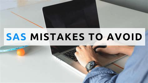 5 Mistakes To Avoid by 5 Mistakes To Avoid In Sas Analytics