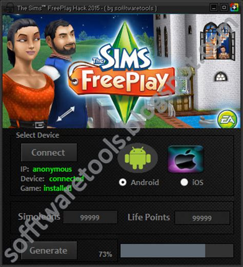 sims freeplay hack android the sims freeplay hack tool android 2015 unlimited simoleons points no survey no password