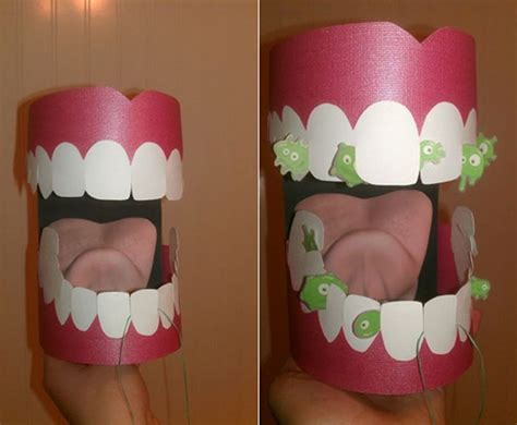 How To Make Vire Teeth Out Of Paper - 17 best images about dental projects on mouths