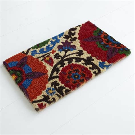 wisteria rugs wisteria accessories rugs doormats suzani doormat 34 00 i need this