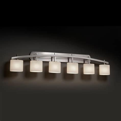 Modern Bathroom Light Bar Archway Oval Six Light Bath Bar Modern Bathroom Vanity Lighting By Lightology