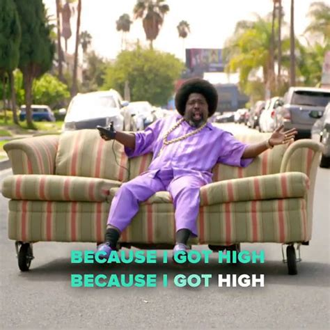 because i got high afroman reveals new pro version of because i got