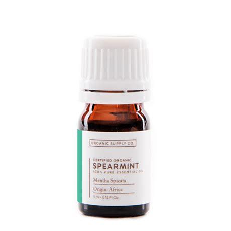 Jen 10ml Spearmint Essential Essensial organic supply co spearmint essential rp 125 000