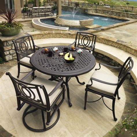 patio furniture sets 500 bel air dining