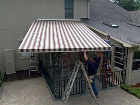 how to attach awning to house how to install a new orleans style patio