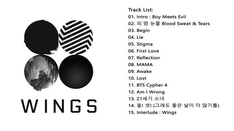 download mp3 bts wings full album bts 방탄소년단 wings 2nd album youtube