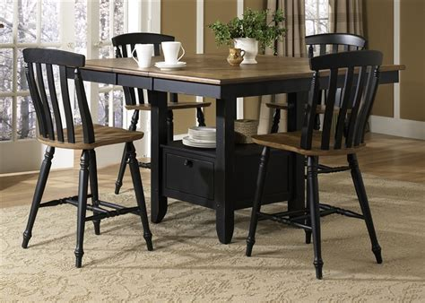 black counter height table black counter height dining room sets